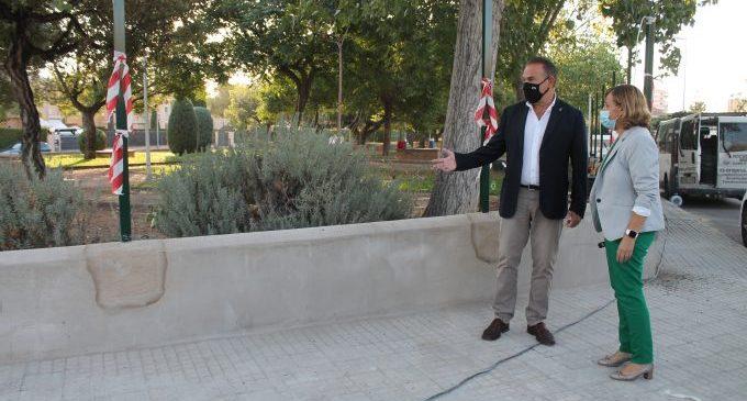 Benicàssim inicia la instal·lació del clos del parc Baix Maestrat