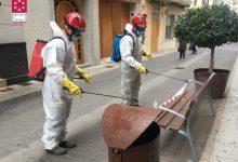 El Consorci Provincial de Bombers desinfecta les localitats de Nules i Vinaròs per a reforçar les accions enfront de la pandèmia de la Covid-19