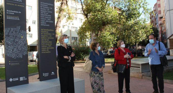 Ruiz es congratula de la retirada de vestigis franquistes del l'Hospital de la Magdalena i l'IES Porcar