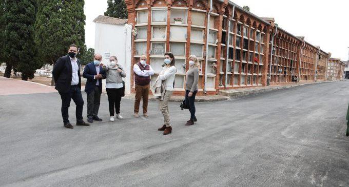 Castelló inverteix en obres de millora de vials i canalitzacions en el cementeri de Sant Josep