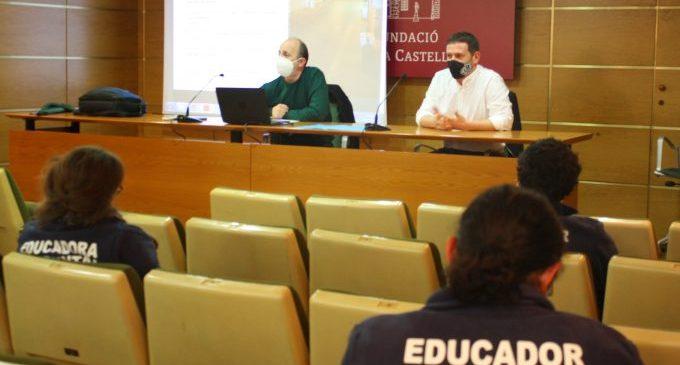 L'equip d'educació ambiental de Castelló serà model a seguir per a altres municipis del territori valencià