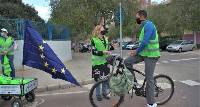 Castelló visibilitza la seua xarxa ciclista de segell europeu i avança en el disseny d'un model urbà sostenible