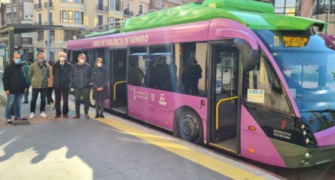Obres Públiques estrena la nova parada 'La Farola' del TRAM de Castelló