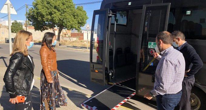 Almassora renova el seu autobús urbà per un huit vegades més eficient