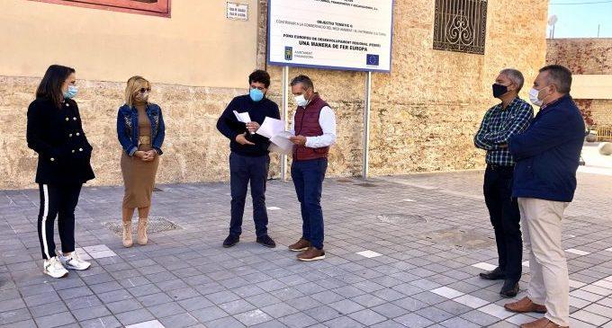Almassora mira a 2021 para reformar la plaza Mayor tras certificar la primera fase de la Vila