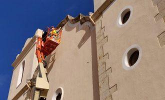 Vinaròs recuperarà les pinturesbarroques de les façanes dels edificis del centre històric