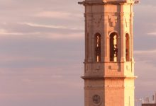 Un vol de campanes i 75 carcasses per a recordar el 75 aniversari de la reconstrucció del Campanar de Borriana