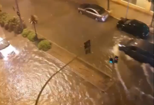 Las intensas lluvias provocan incidencias leves en Castelló