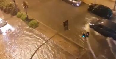 Las intensas lluvias provocan incidencias leves en Castelló
