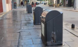 Vinaròs sanciona l'empresa encarregada de la gestió dels residus