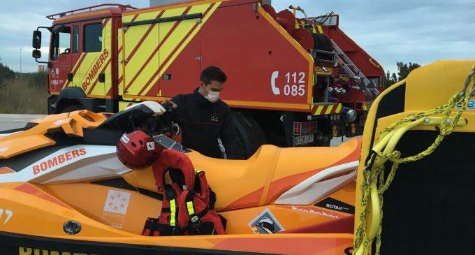 El Consorci de Bombers, preparat davant l'alerta taronja per fortes pluges a la província de Castelló