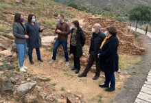 La Diputació i l'Ajuntament de la Vall d'Uixó treballaran per a potenciar com a recurs turístic el poblat iber de Sant Josep