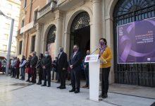 La Diputación alza su voz en contra de la violencia de género con microrrelatos y la lectura de la declaración institucional