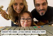 Concert gratuït per a bebés aquest diumenge al CMC la Mercè de Borriana