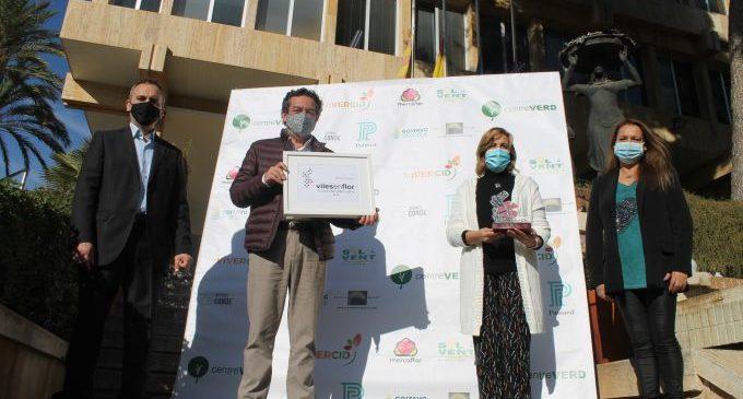 Viles en Flor reconeix la posada en valor dels espais verds urbans de Benicàssim