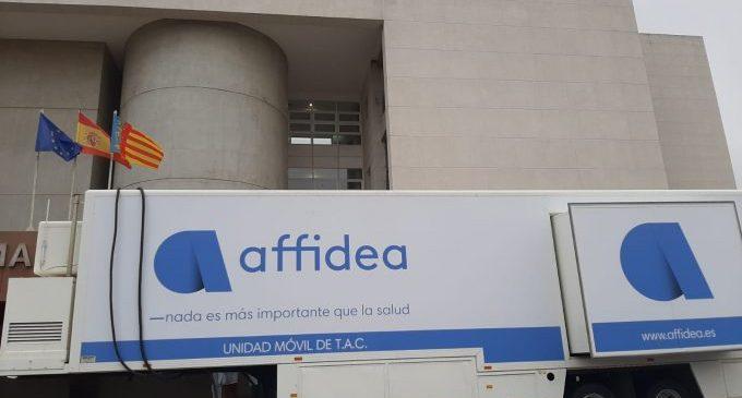 L'Hospital de Vinaròs instal·la un TAC portàtil per a donar cobertura assistencial durant el procés de muntatge d'un nou equip