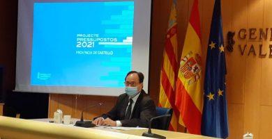 La província de Castelló s'emporta 146 milions dels pressupostos de la Generalitat per a 2021