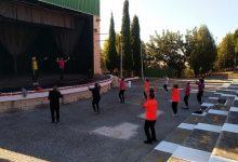 L'Ajuntament d'Almenara realitza les classes esportives en l'exterior