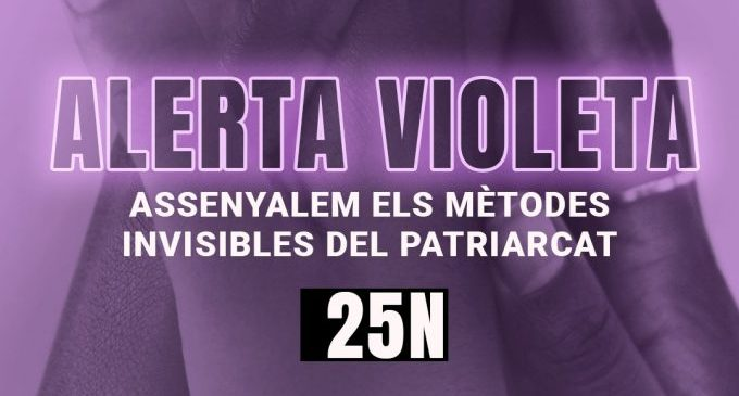 El CJ de Castelló combat la violència de gènere amb una 'Alerta Violeta' per destapar actituds masclistes