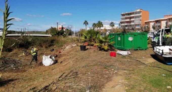 Medi Ambient millora la desembocadura del Barranquet a Benicarló