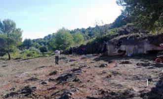 L'ajuntament d'Almenara recupera el Blocau de Trascastell