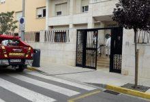 Los bomberos realizan tareas de desinfección en Vinaròs
