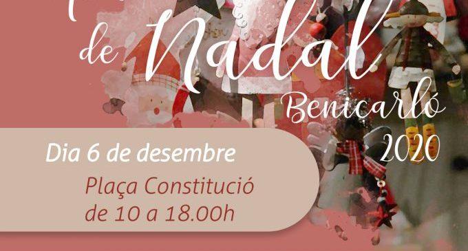 Benicarló gaudirà del tradicional Mercat de Nadal el proper 6 de desembre