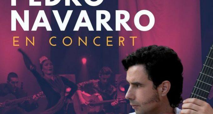 El guitarrista i compositor Pedro Navarro torna al Teatre Payà de Borriana