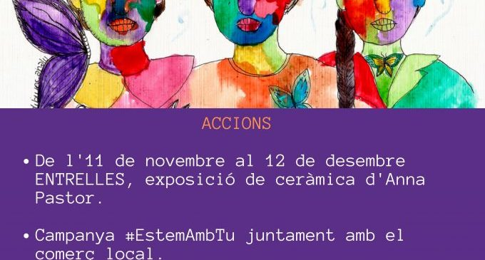 L'Ajuntament d'Almenara dedicarà el mes de novembre al record a les dones víctimes de la violència de gènere