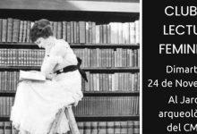 Lectura de Dona Frontera d'Helena Maleno en el 'Club de lectura feminista' en el CMC la Mercé de Borriana