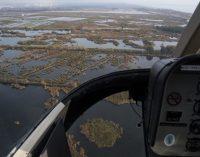 La Diputació activa vols de fumigació a les zones de marjal de la província per a evitar l'aparició de mosquits