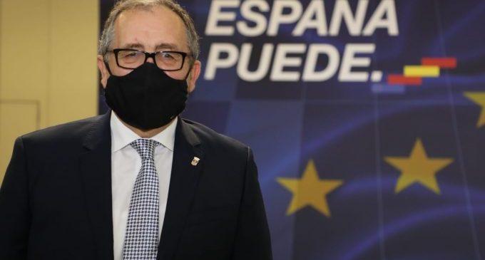 """José Martí destaca el Plan para la Recuperación de la Economía Española del Gobierno como eje para """"lograr un país más sostenible, cohesionado e igualitario"""""""