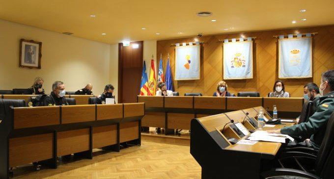 La Junta de Seguretat de Borriana repassa les actuacions en matèria de seguretat d'enguany