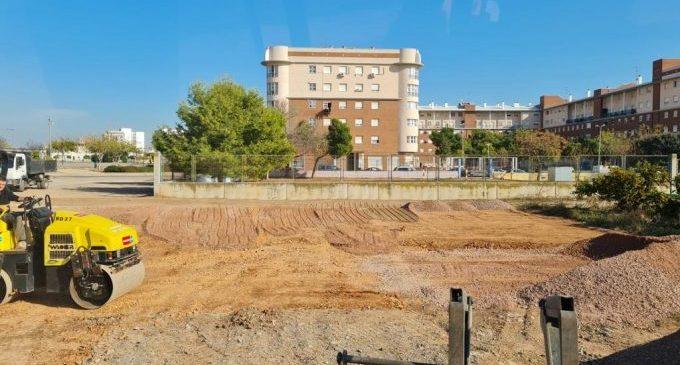 El Ayuntamiento de Burriana acondiciona una parcela municipal como aparcamiento en el barrio la Bosca