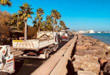 Finalizadas las obras de reparación y asfaltado del camí la Serratella en Borriana