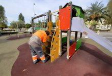 Benicàssim inicia un pla de pintat de les àrees de jocs infantils municipals