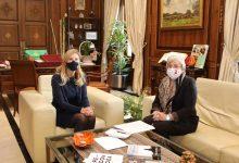 Marco aborda amb Barceló l'evolució de la pandèmia i les dotacions sanitàries a Castelló