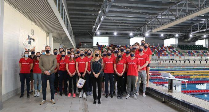 Castelló acull a l'Equip Nacional de Natació en la primera cita per a accedir a Tòquio 2021