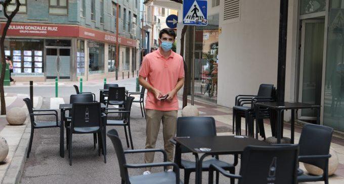 Castelló autoritzarà terrasses de manera temporal i excepcional per la covid-19 en carrers per als vianants