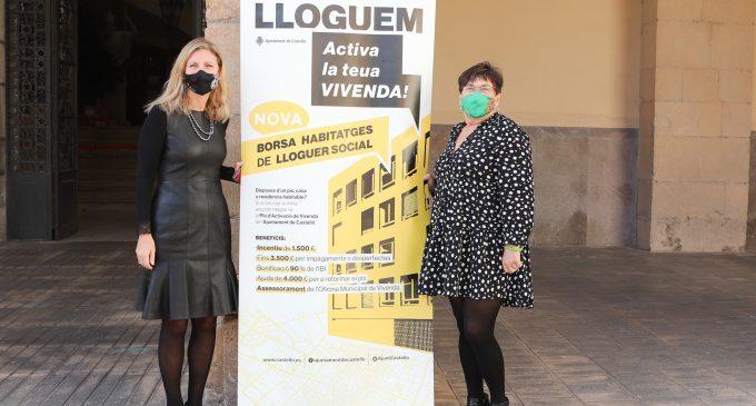 Castelló impulsa una nova bossa de lloguer social amb incentius per als propietaris per a incrementar la cobertura en habitatge