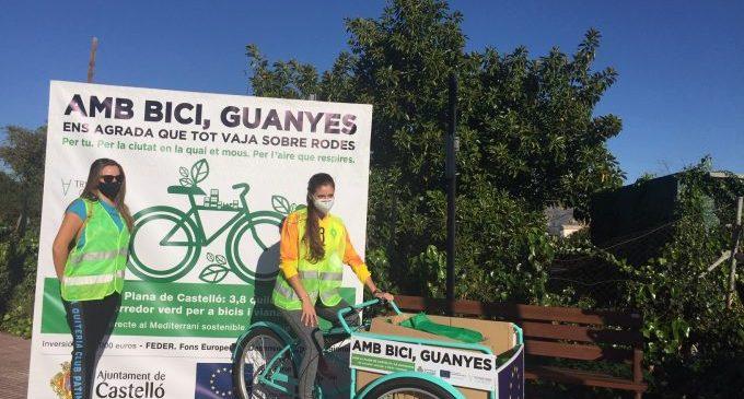 Castelló celebra sobre rodes el primer aniversari del renovat Camí La Plana impulsat per Europa