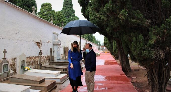 Castelló inverteix en la millora de l'accessibilitat i les instal·lacions del cementeri de Sant Josep