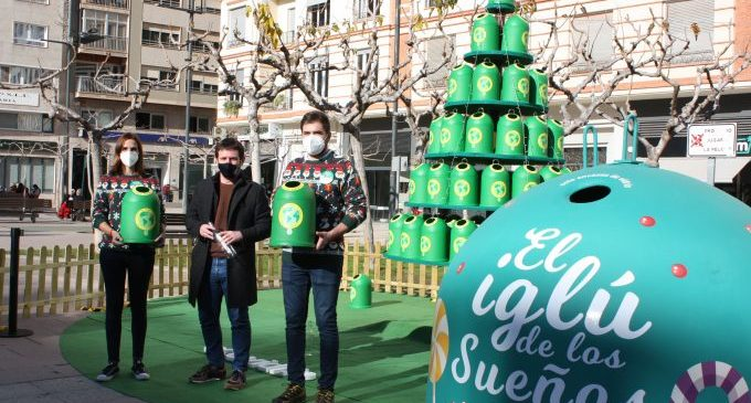 Castelló incideix en la importància del reciclatge de vidre també al Nadal