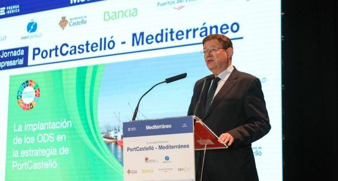 Puig anuncia que aquest divendres es reunirà la comissió mixta per a avançar cap a la consecució de l'estació intermodal de Castelló