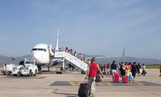 El aeropuerto de Castellón refuerza su colaboración con el Ayuntamiento de la Vall d'Uixó para el fomento del turismo y la actividad empresarial