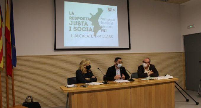 """Laguna: """"Els comptes del Consell de 2021 augmenten la inversió a l'Alcalatén amb 6,3 milions d'euros"""""""