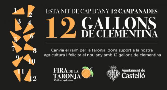 """Castelló anima a consumir dotze gallons de clementina en Cap d'Any """"per a recolzar als nostres agricultors"""""""