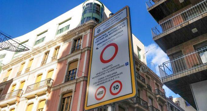 Castelló incorpora un nou sistema de control d'accessos amb càmeres per a pacificar el centre històric