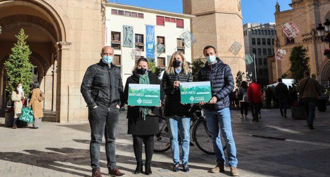 Castelló activa wifi gratuito y de alta velocidad en seis espacios públicos de la ciudad