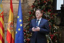 """Puig demana als valencians """"màxima prudència"""" per Nadal per a """"no deixar una cadira buida per sempre"""""""